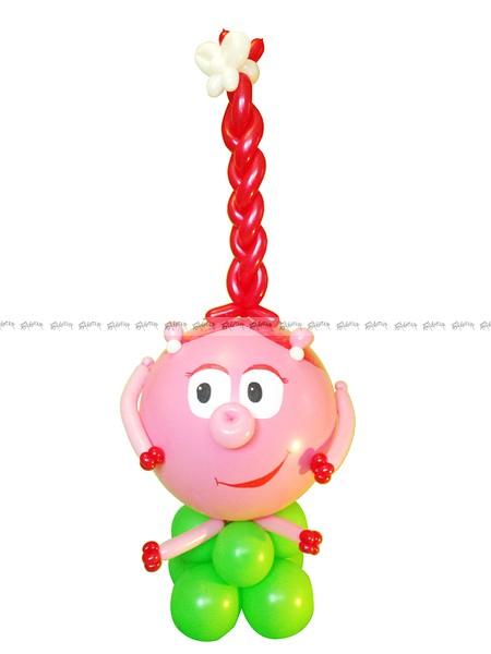 Смешарик Нюша - игрушка из шаров