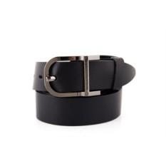 Черный мужской кожаный ремень тип 945961