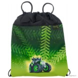 Черно-зеленый мешок для обуви McNeill School