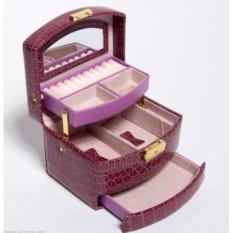 Фиолетовая шкатулка для украшений