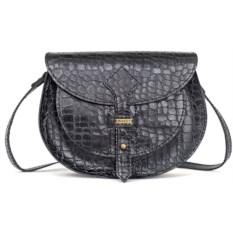 Женская кожаная сумка (цвет: черный)