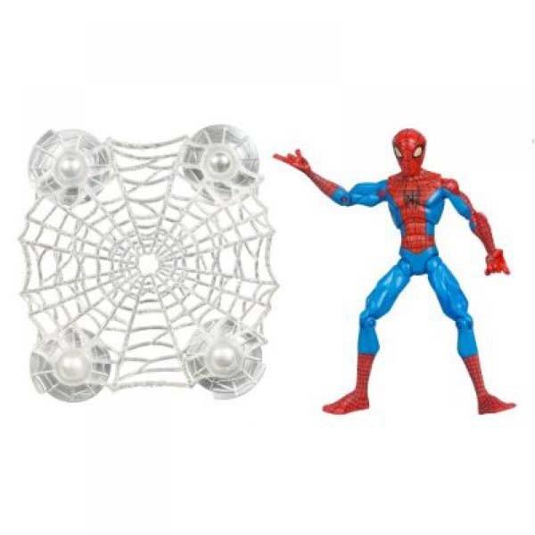 Подвижная фигурка Человека-Паука с паутиной