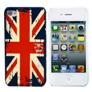 Чехол для iPhone 4/4S Union Jack Vintage