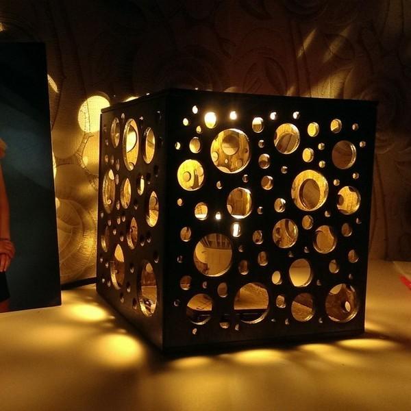 Настольный светильник Сыр