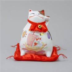 Японский кот-копилка Манеки-неко Деньги и Удача!