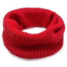 Шарф-снуд «Lulu» (красный)