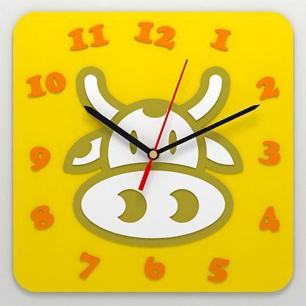 Детские часы «Корова»