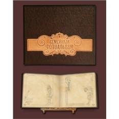 Подарочный фотоальбом в стиле 19 века
