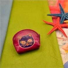 Розово-фиолетовая монетница Socotra Кот