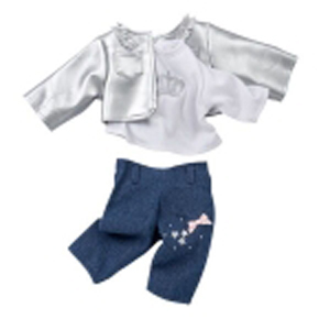 Набор одежды «серебро»