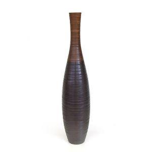 Декоративная ваза из мангового дерева