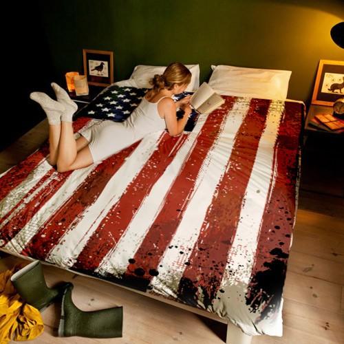 Постельное белье 1,5-спальное День независимости