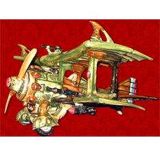 Штоф подарочный «Самолет»