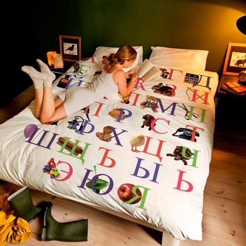 Постельное белье Букварь (2-спальное)