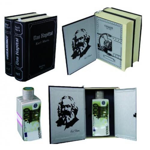 Книга-сейф двухтомник К. Маркс Капитал
