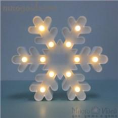 Светодиодный декоративный ночник Снежинка