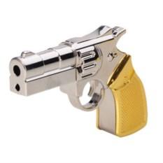 Металлическая флешка Револьвер