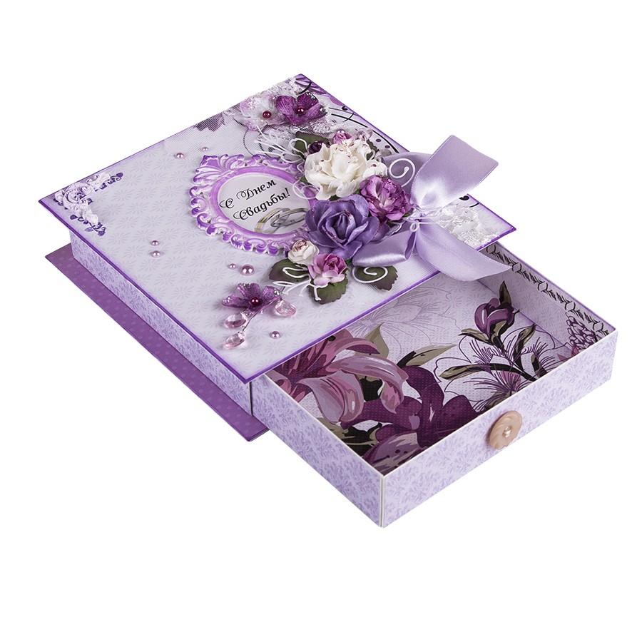 Подарочная коробочка С днем свадьбы