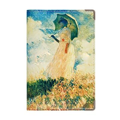 Обложка для паспорта «Девушка с зонтом»