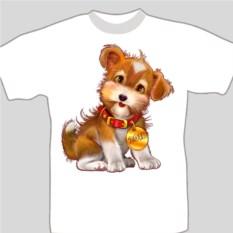 Подарочная футболка «Символ 2018 года»