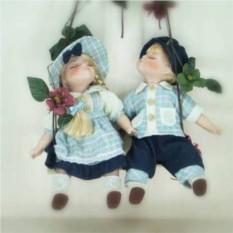 Фарфоровые парные куклы Мартин и Марта