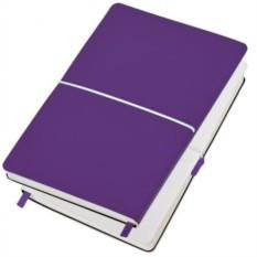 Фиолетовый бизнес-блокнот А5 Franky в линейку