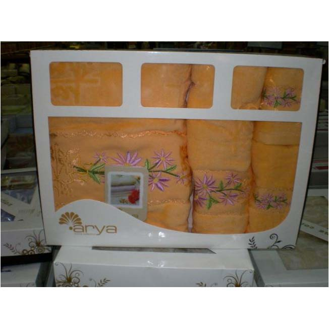 Набор полотенец с вышивкой CERES ORANGE