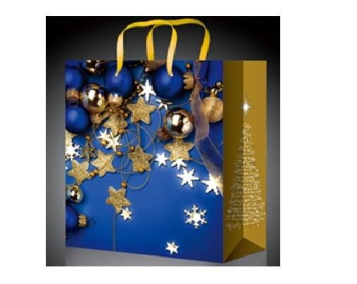 Стильный подарочный пакет на Новый год