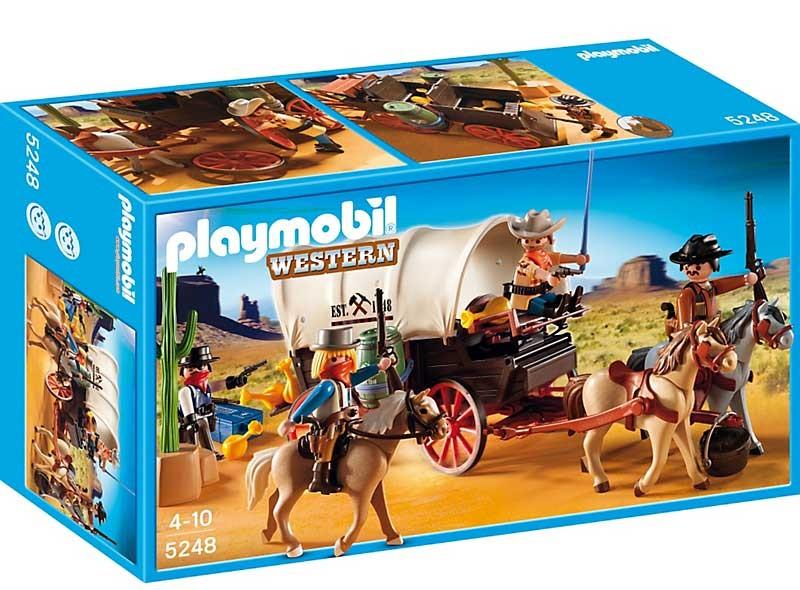 Конструктор Playmobil Телега запряженная лошадьми