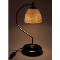 Настольный фарфоровый светильник Rose