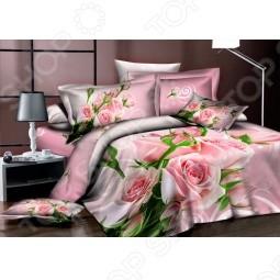 Комплект постельного белья Аура «Нежные розы». 2-спальный