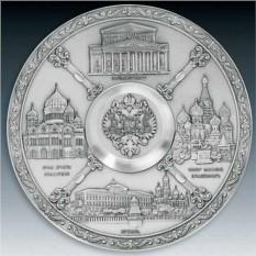 Настенная тарелка Москва Artina