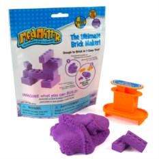 Масса для лепки Mad Mattr The Ultimate Brick Maker Purple