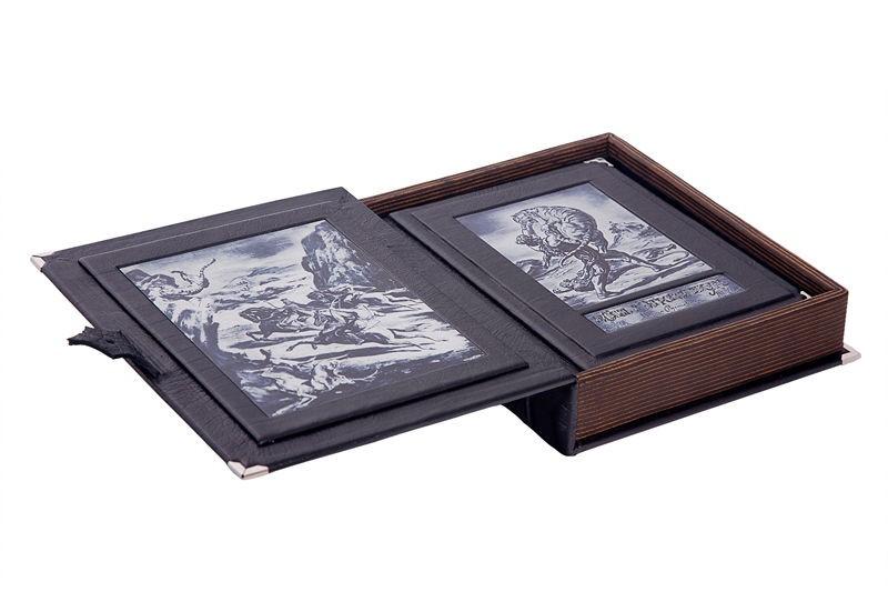 Книга в коробке Витязь в тигровой шкуре Ш. Руставели