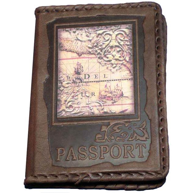 Обложка для паспорта №5