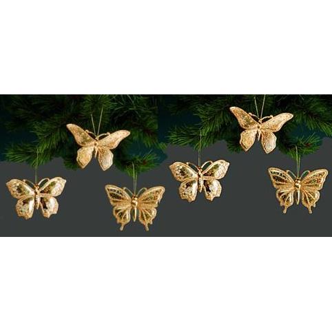 Бабочки золотые