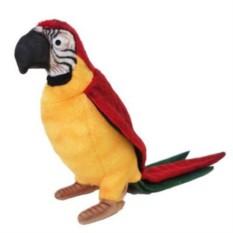 Мягкая игрушка Hansa Жёлтый попугай
