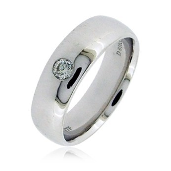 Мужское кольцо с бриллиантом TTF-Luxury