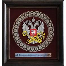 Мини-панно Герб ФНС РФ