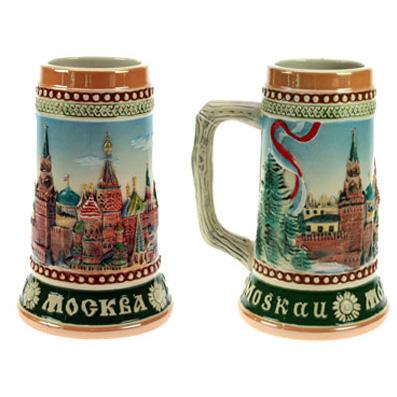 Пивная кружка коллекционная «Москва»