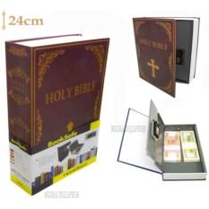 Книга-сейф с кодовым замком Bible (высота 24 см)