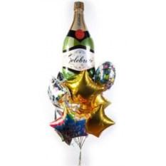 Букет шаров Шампань