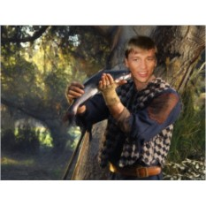Портрет-фотомонтаж Рыбак