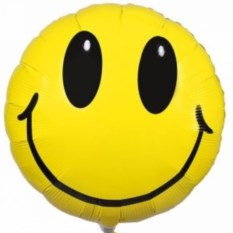 Шар SMILE Yellow Rounded