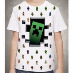 Белая футболка Крипер