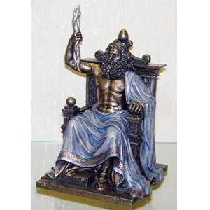 Бронзовая статуэтка «Зевс»
