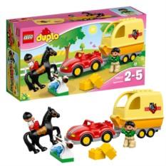 Конструктор Lego Duplo Трейлер для лошадок