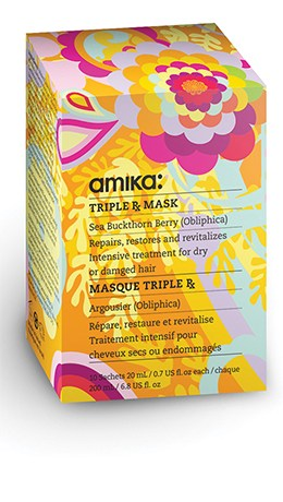 маска Triple Rx для поврежденных волос amika