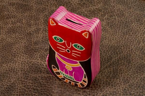 Копилка Красный котик