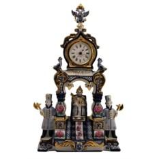 Настольные часы Царский трон